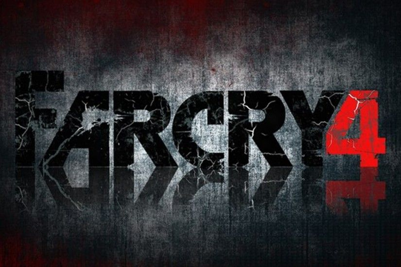 Far Cry 4 Logo Wallpaper