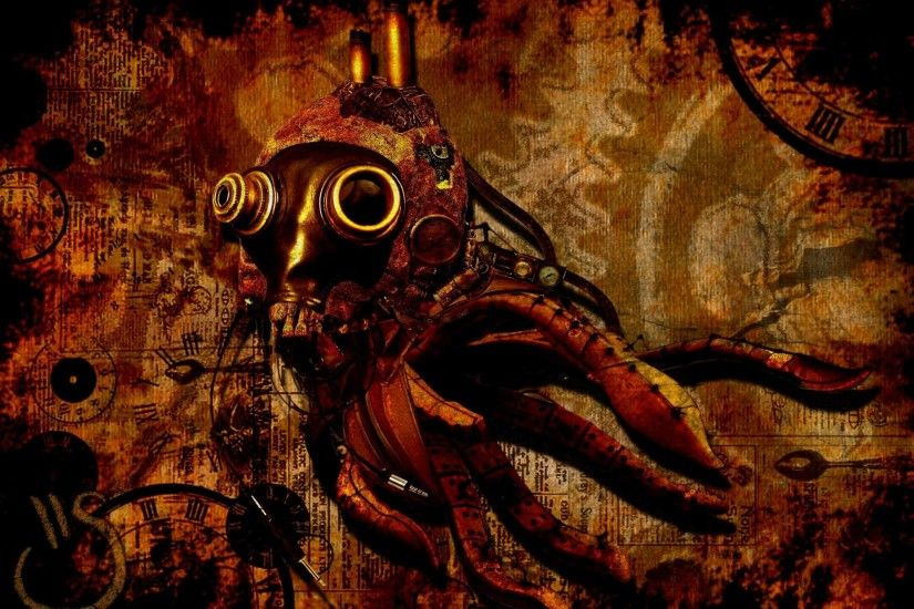 Steampunk Desktop Backgrounds #7402