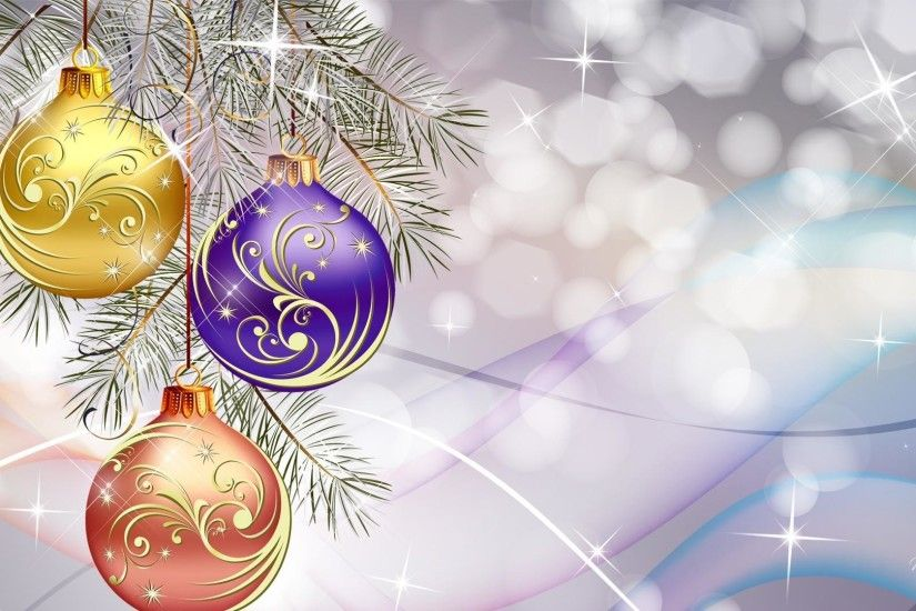 Christmas balls on light background on Christmas wallpapers and images  1920x1080