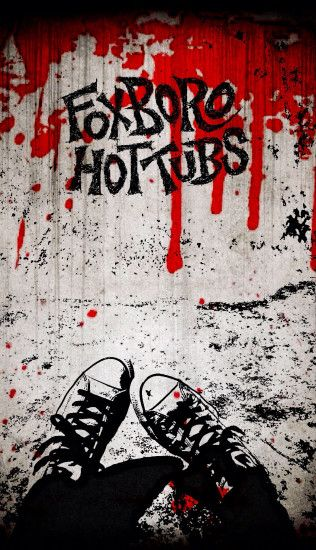My first edit of the Foxboro Hot Tubs wallpaper I posted. For iPhone/iPod