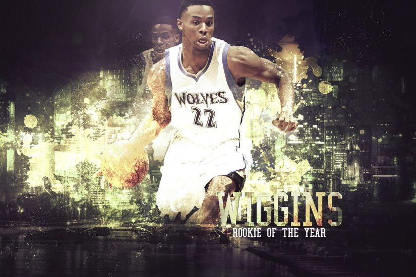 Andrew Wiggins 2015 ROTY 1920x1200 Wallpaper