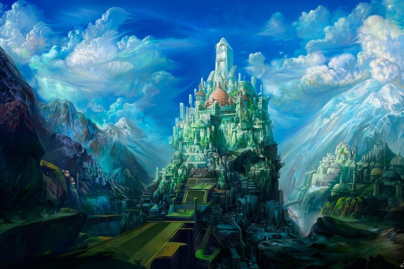 Free Download Awesome Fantasy Images Source · d abstract Dreamy fantasy  Wallpaper Fantasy Castle