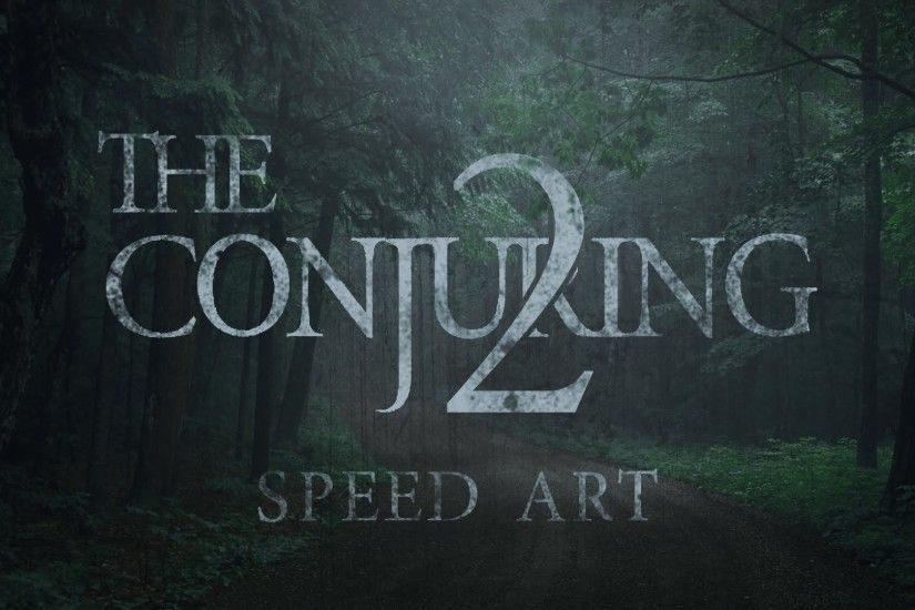 The Conjuring 2 Cover Art/Advert - Speed Art