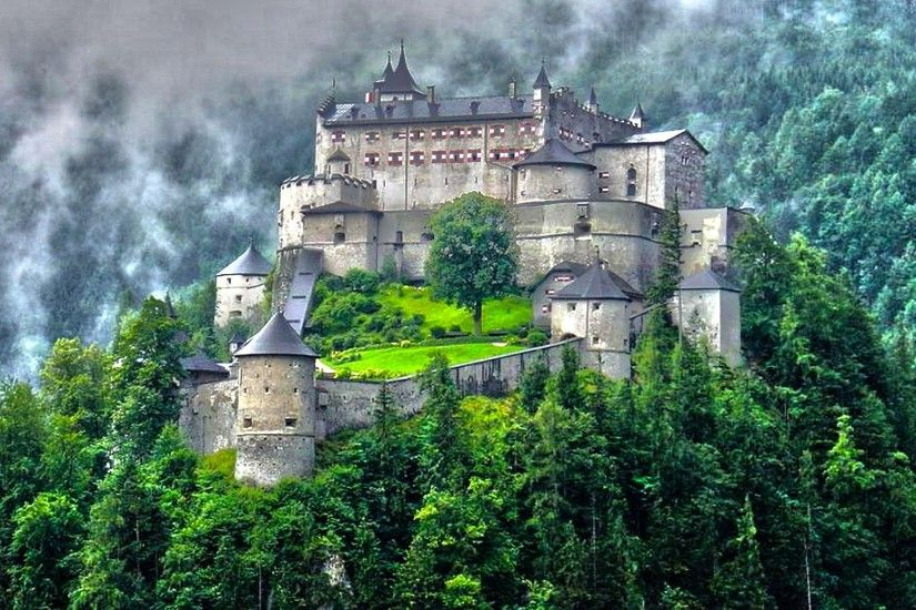 Hohenwerfen Castle Austria Wallpaper