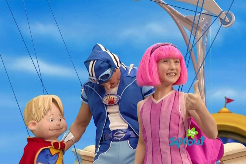 Stephanie's opinion on LazyTown being aired in HD on Sprout: