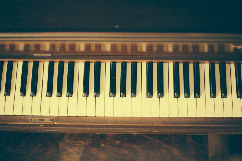 3840x2160 Wallpaper piano, musical instrument, keys