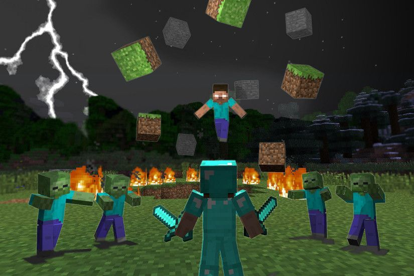 Wallpapers of Minecraft ·① WallpaperTag