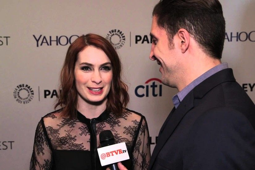 "Felicia Day at the ""Dr. Horrible's Sing-Along Blog"" Reunion at PaleyFest NY"