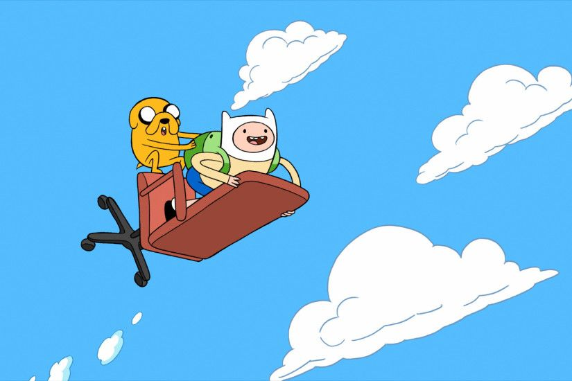 Finn and Jake - Adventure Time [3] wallpaper