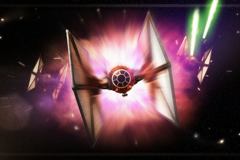 Star Wars: Tie Fighter Wallpaper (1920x1080) by Valkia