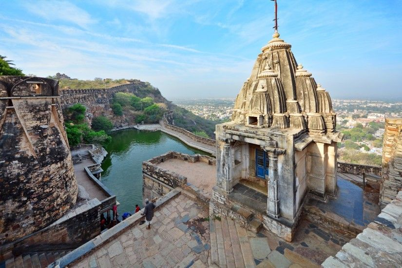 Chittorgarh Fort (india) Awsome HD Wallpapers ...