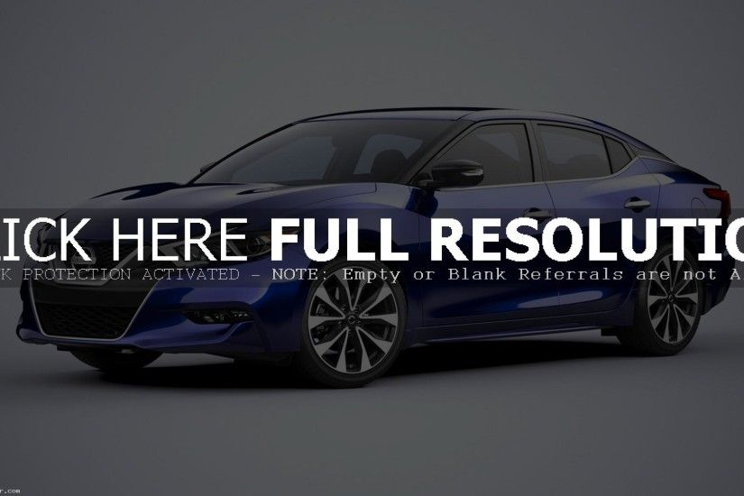2016 NISSAN MAXIMA WALLPAPER PICTURE