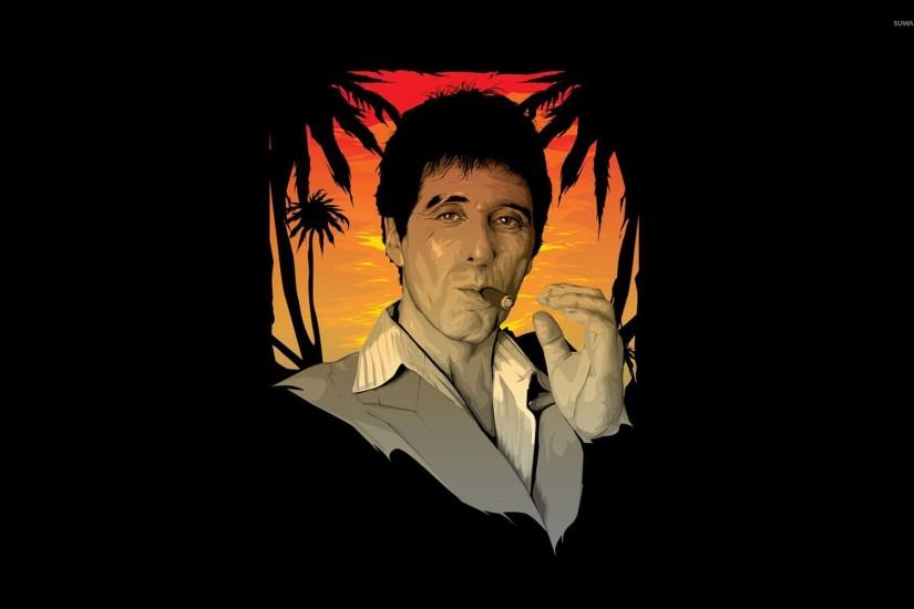 Tony Montana - Scarface wallpaper