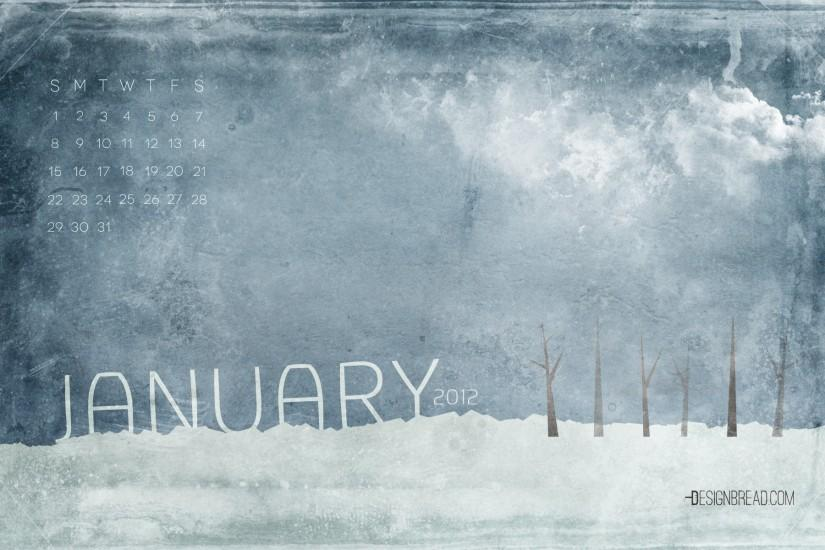 January 2012 Calendar Wallpaper | Design Bread