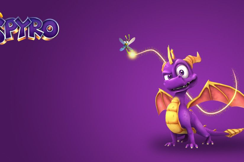 Video Game - Spyro the Dragon Sparx the Dragonfly Spyro (Character) Dragon  Wallpaper