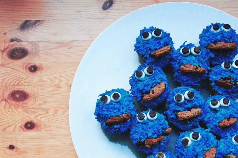 35 units of Cookie Monster Wallpaper