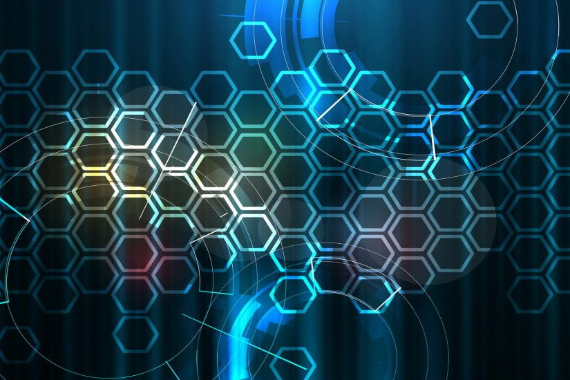 hexagon computer wallpaper