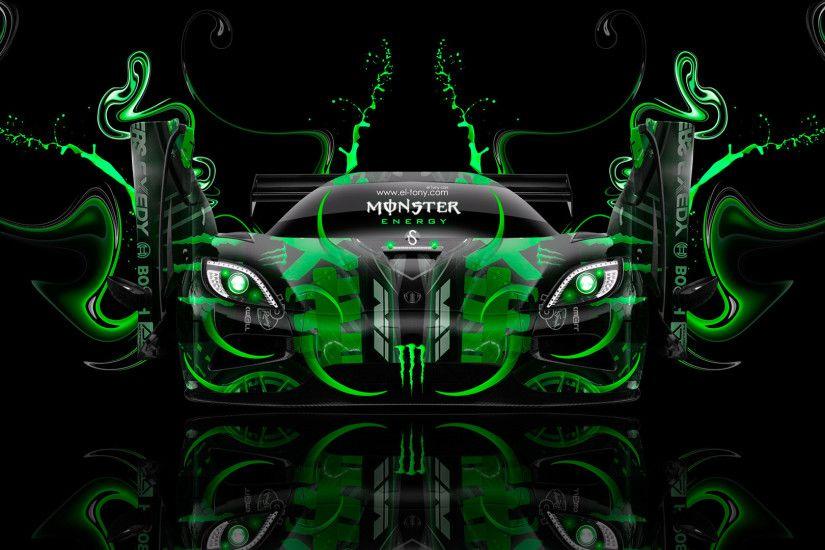 Monster Energy Koenigsegg Agera Open Doors Fantasy