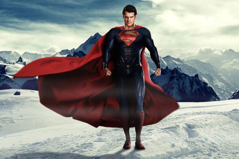 Man of Steel - Superman wallpaper
