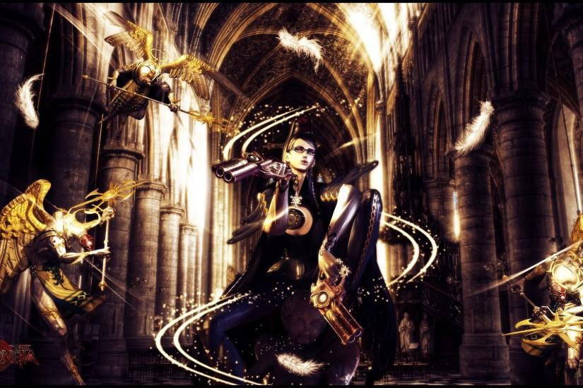 widescreen bayonetta wallpaper 1920x1080 notebook