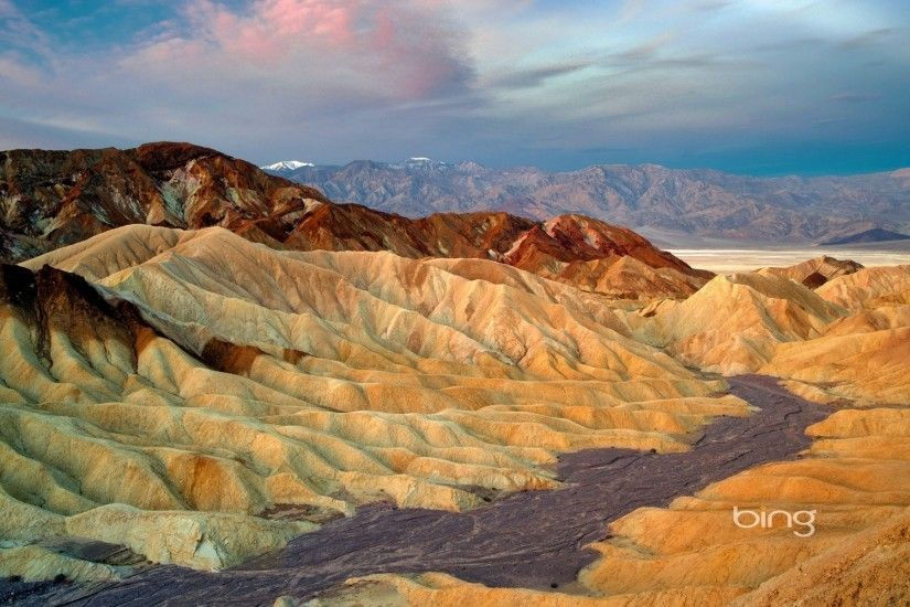 zabriskie point death valley national park california united states sky  clouds mountain
