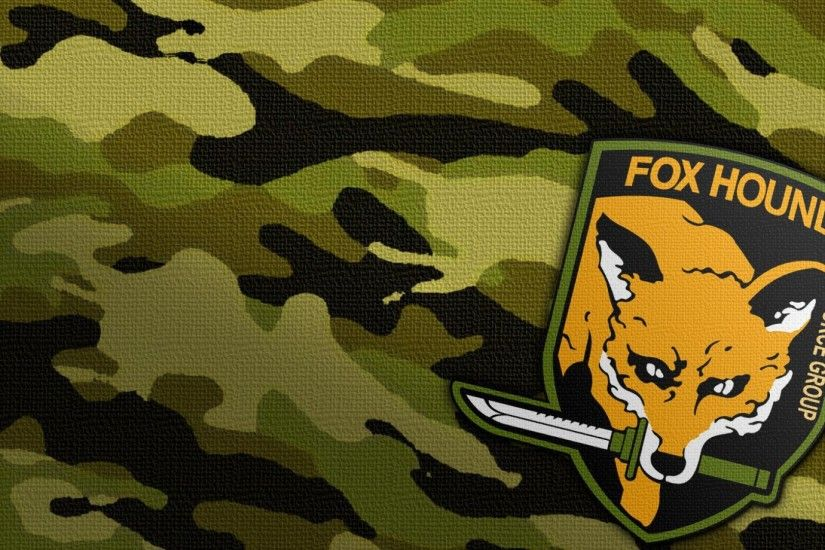 Metal Gear's Foxhound Patch.