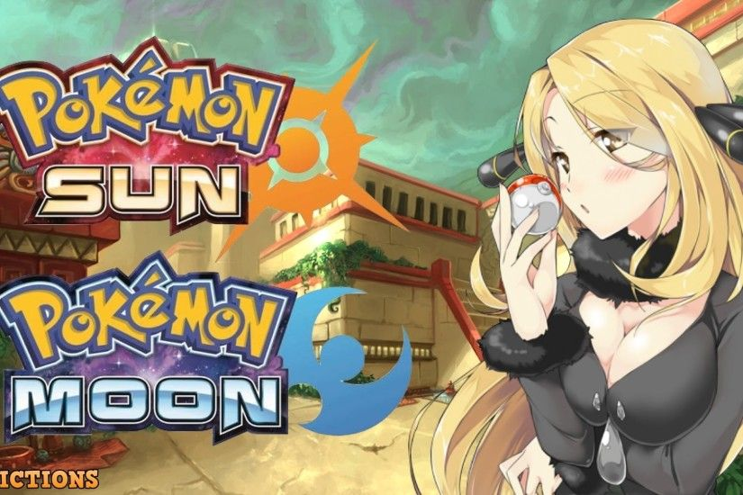 Pokemon Sun And Moon Top Wallpapers Pokemon Sun And Moon Wallpaper  Background