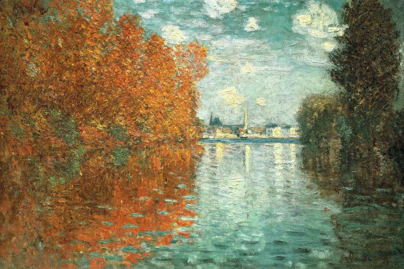 Painting Monet - Autumn effect