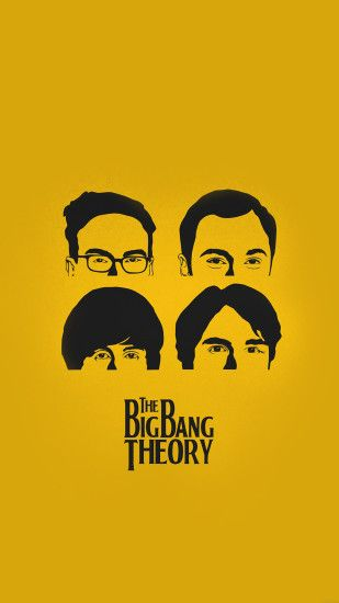 TAP AND GET THE FREE APP! Movies The Big Bang Theory Poster Yellow