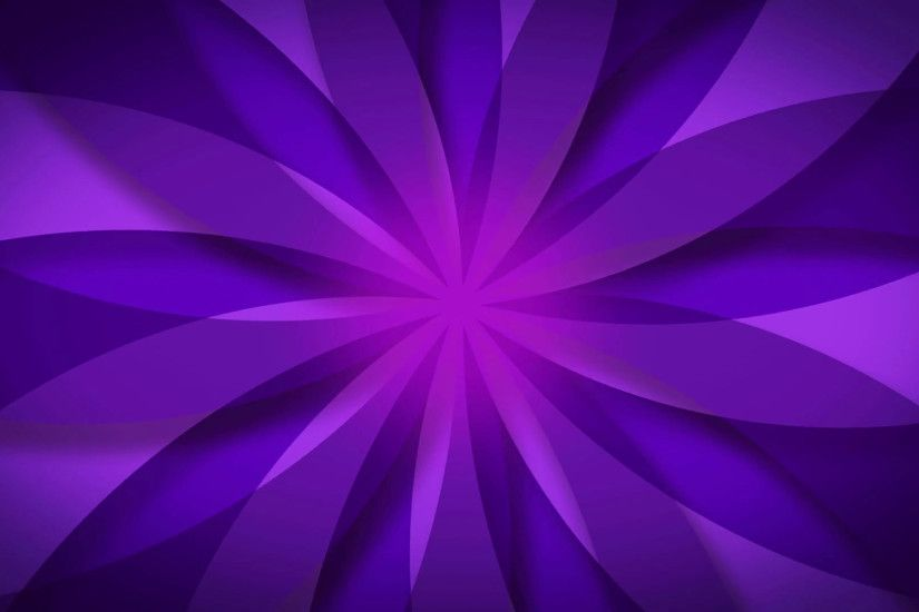 ... of rotating beams colorful cartoon retro pinwheel, hypnotic swirl,  vintage sunburst - Purple Flower abstract background. Motion Background -  VideoBlocks