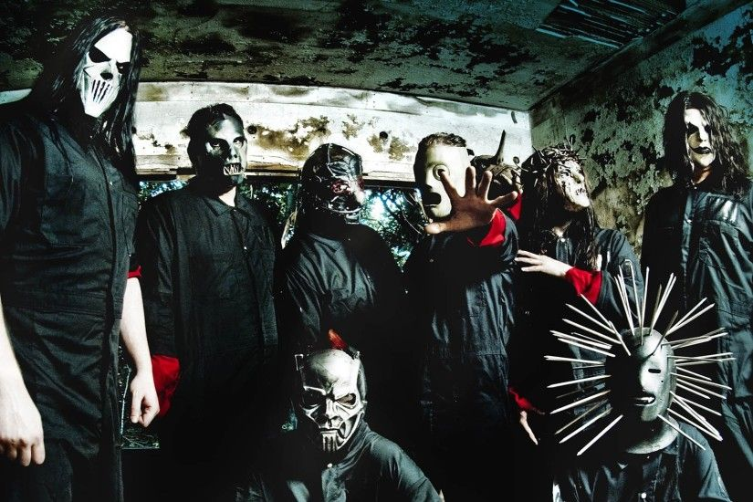 1920x1080 Wallpaper slipknot, masks, image, palm, room