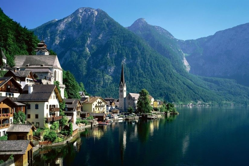 Austria, Landscape, Hallstatt, Lake Wallpapers HD / Desktop and Mobile  Backgrounds
