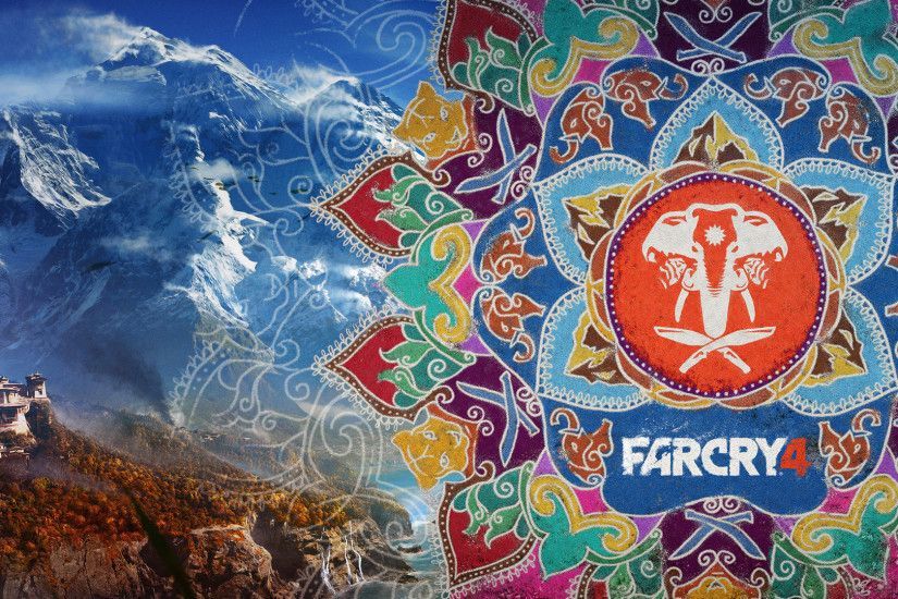 Far Cry 4 art