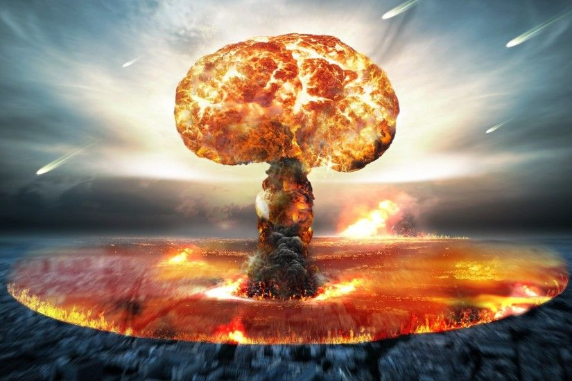 atomic explosion, nuclear bomb, apocalypse, nuclear explosion