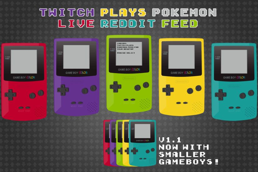 Twitch Plays Pokemon GameBoy Feed by aornat on DeviantArt