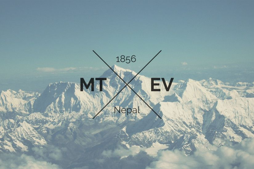 hipster everest desktop wallpaper