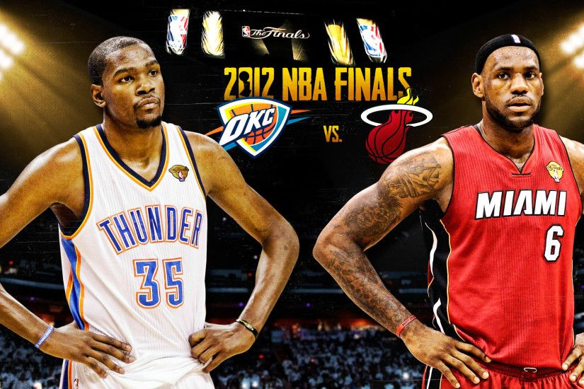 2012 NBA Finals: Kevin Durant vs. LeBron James