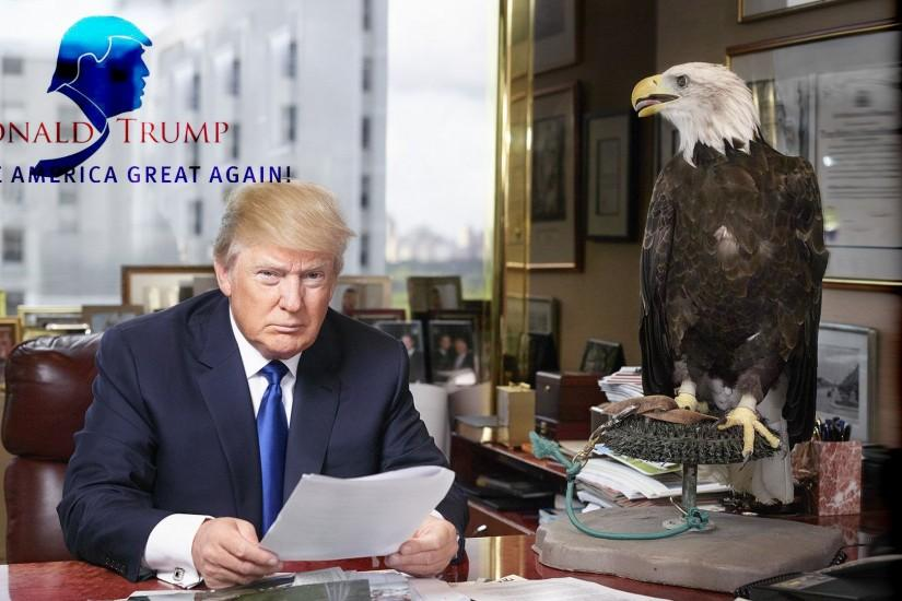Donald Trump wallpaper titled Donald Trump (Make America Great Again)