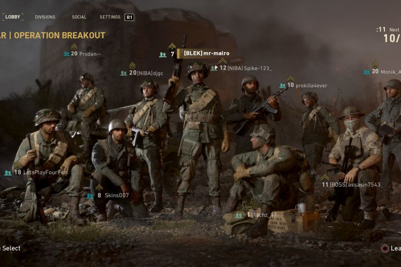 For the first time since Black Ops 2, World War II changes up the  Create-A-Class system – removing the Pick 10 system and opting for more of  a Battlefield ...