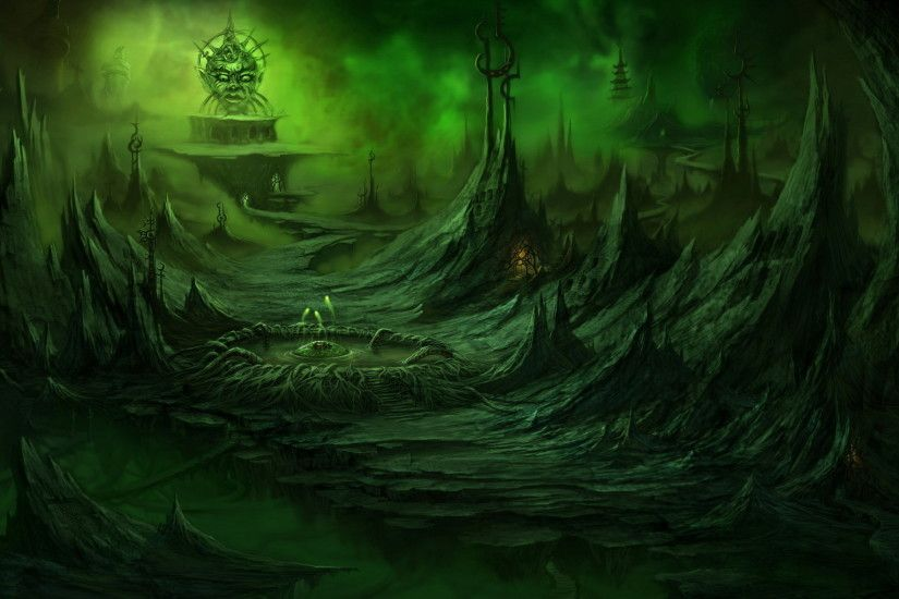 ... Alien Landscape Wallpaper - WallpaperSafari Download Wallpapers,  Download 1024x1024 fantasy art skeletons .