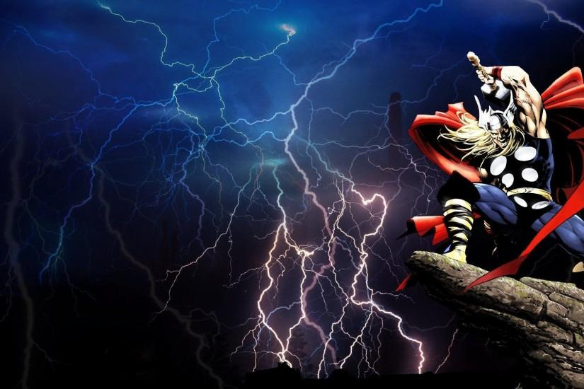 Wallpapers For > Thor Lightning Wallpaper