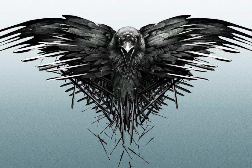 Preview wallpaper game of thrones, game, raven 1920x1080