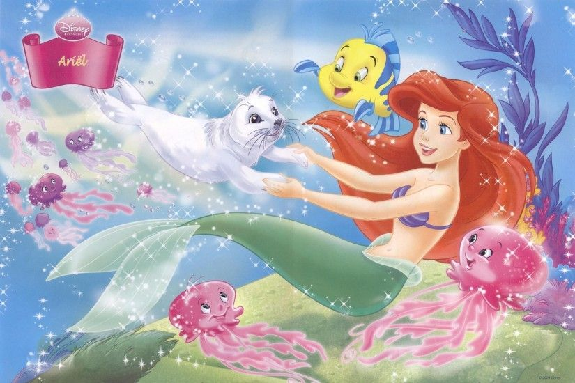 LITTLE MERMAID disney fantasy animation cartoon adventure family  1littlemermaid ariel princess ocean sea underwater wallpaper |