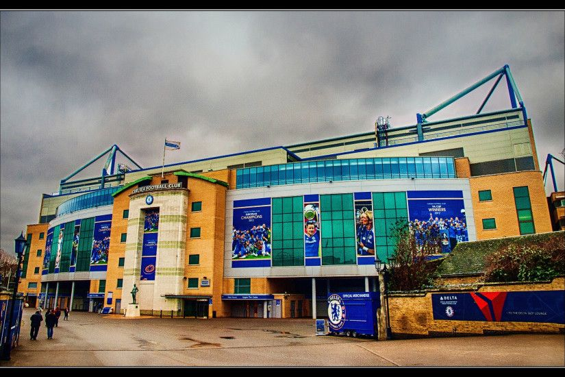 The new Stamford Bridge West Stand exterior Wallpaper HD