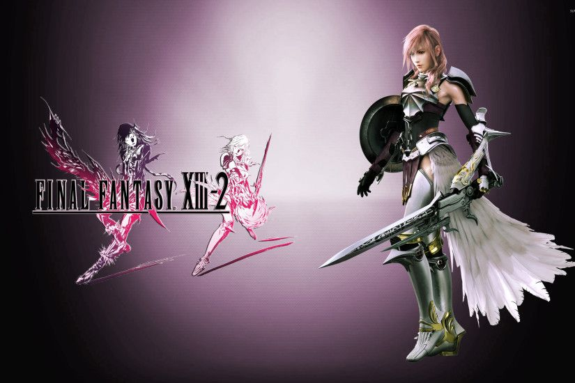 Lightning - Final Fantasy XIII-2 wallpaper