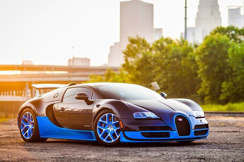 Blue and black stunning car wallpaper