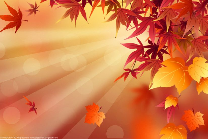 Fall Desktop Wallpaper Autumn Leaves
