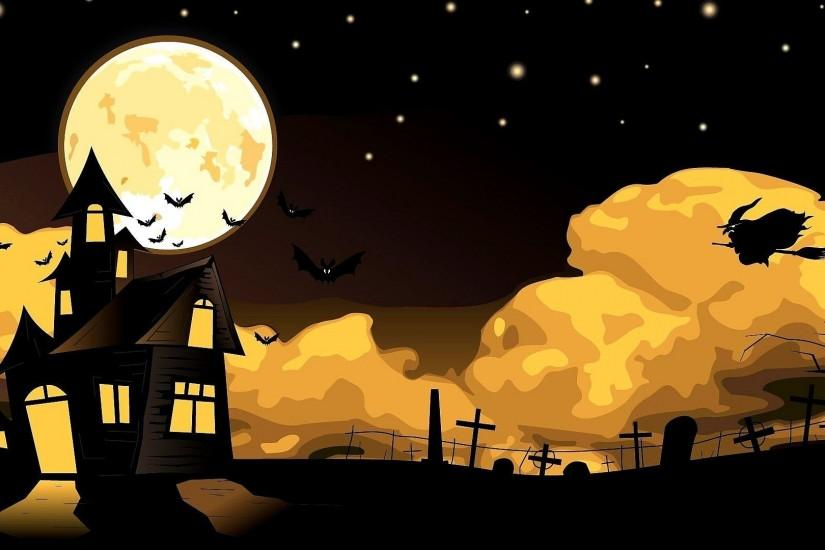 widescreen cute halloween wallpaper 1920x1080 for ios