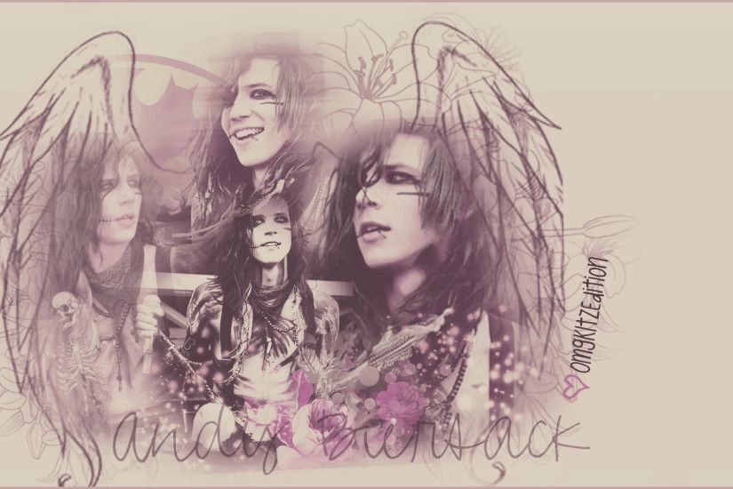 Andy Biersack - Wallpaper by OmgKltzEdition Andy Biersack - Wallpaper by  OmgKltzEdition
