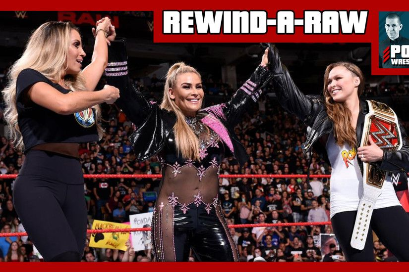 "REWIND-A-RAW 8/27/18: Strowman cashes in at HIAC, Trish Stratus appears, Kevin  Owens ""quits"""
